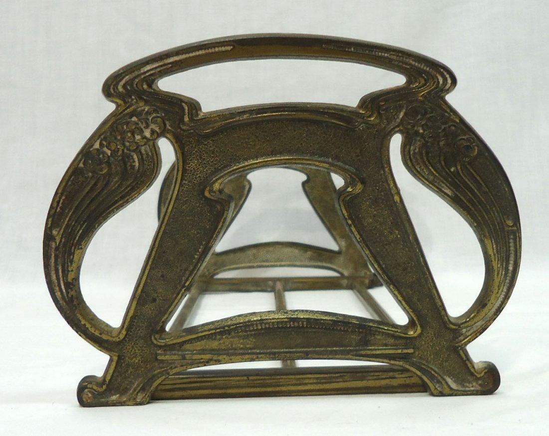 Art Nouveau Expandable Book Rack - 3