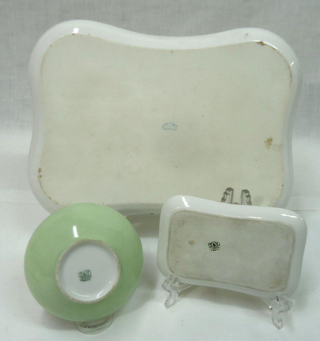3 Pc. H.P. Limoges Dresser Set - 4
