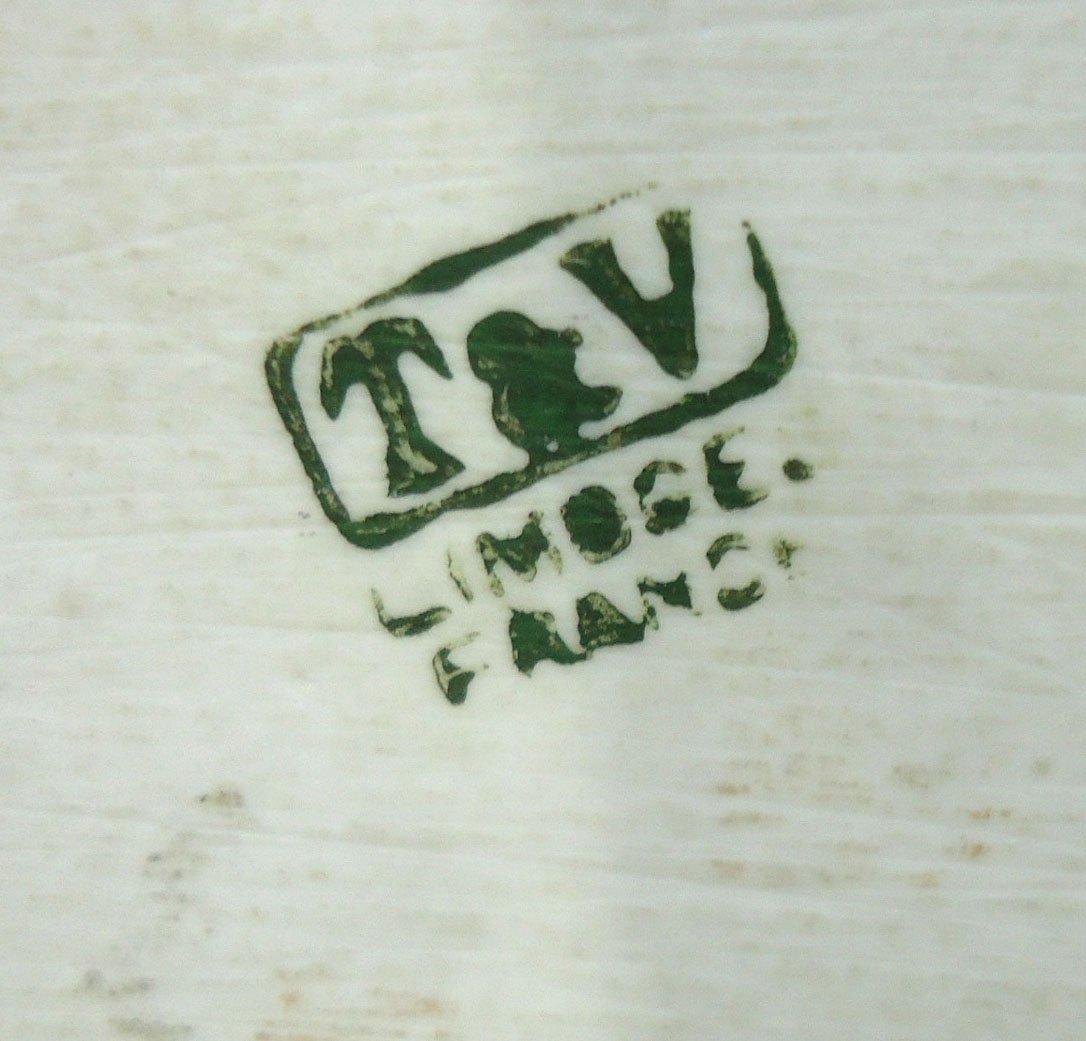 3 Pc. H.P. Limoges Dresser Set - 7