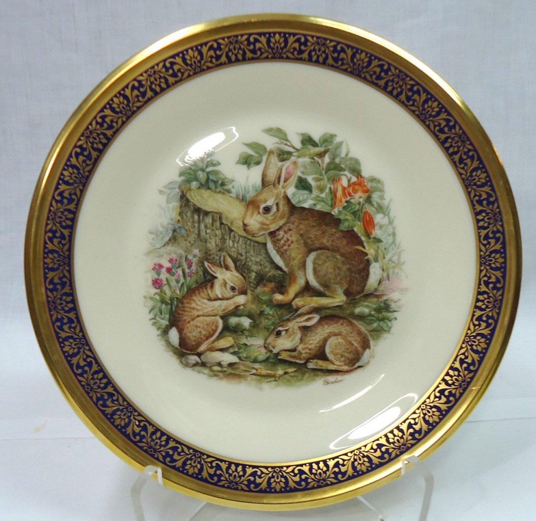 Lenox Boehm Woodland Wildlife Plate