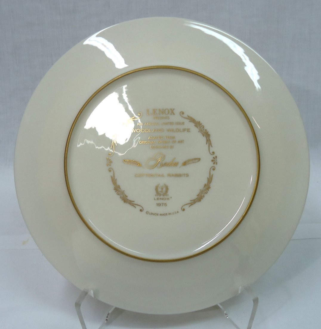 Lenox Boehm Woodland Wildlife Plate - 4