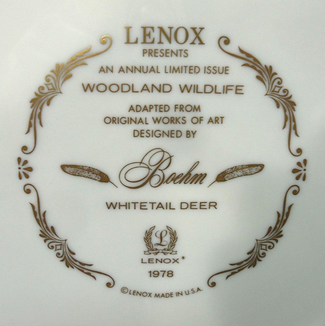 Lenox Boehm Woodland Wildlife Plate - 5