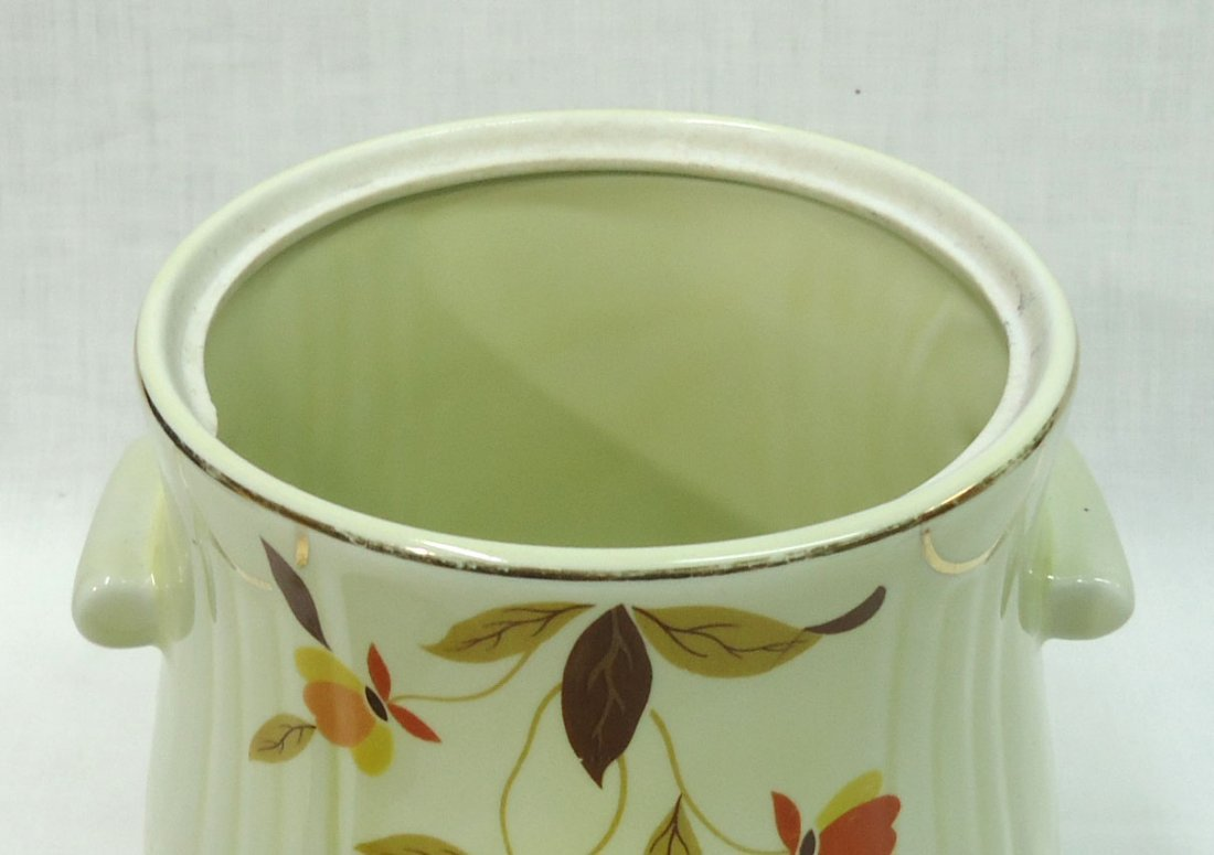 "Halls "" Autumn Leaf"" Cookie Jar - 2"