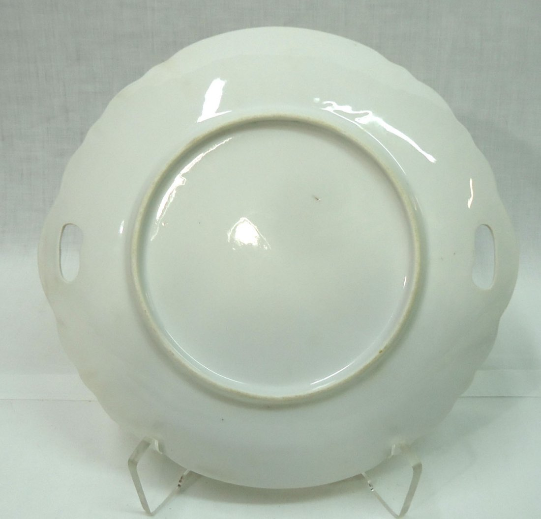3- H.P. Cake Plates ( 2- R.S. Prussia) - 5