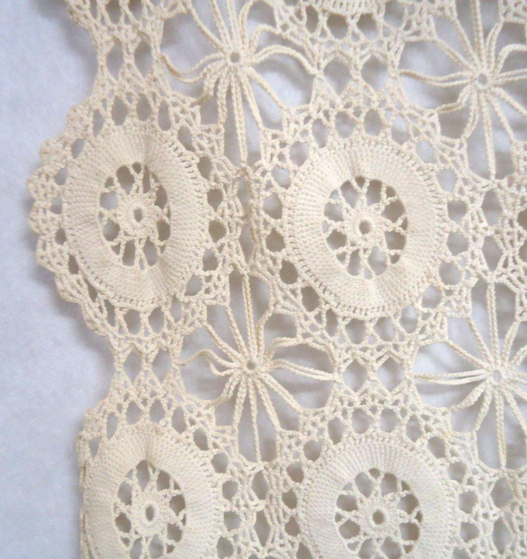 Crocheted Table Cloth - 2