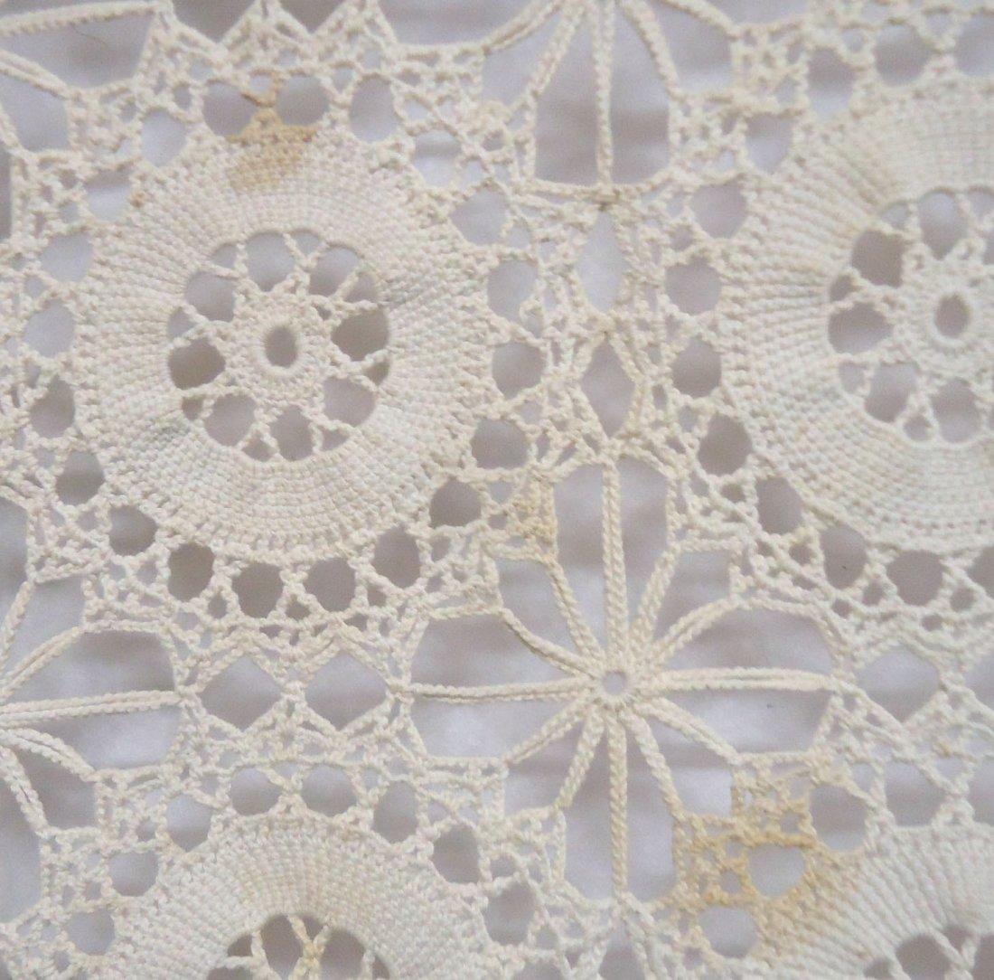 Crocheted Table Cloth - 3