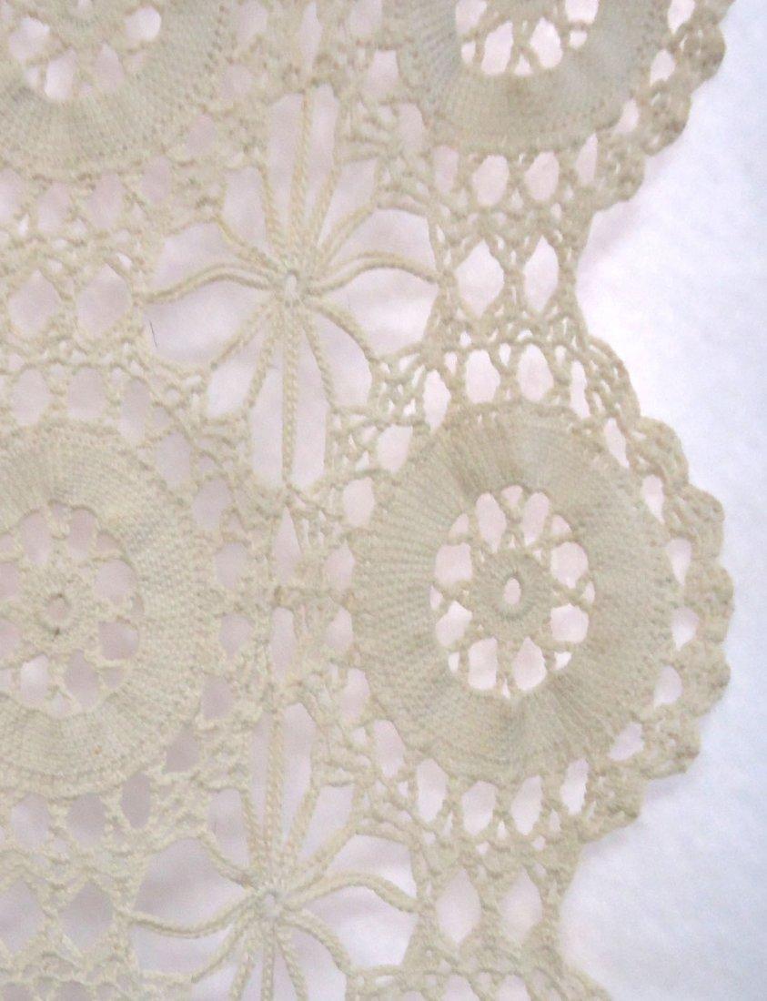 Crocheted Table Cloth - 5