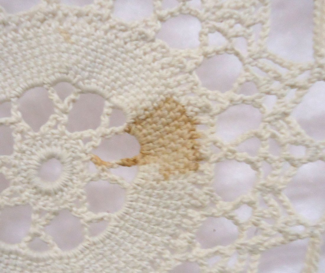 Crocheted Table Cloth - 6