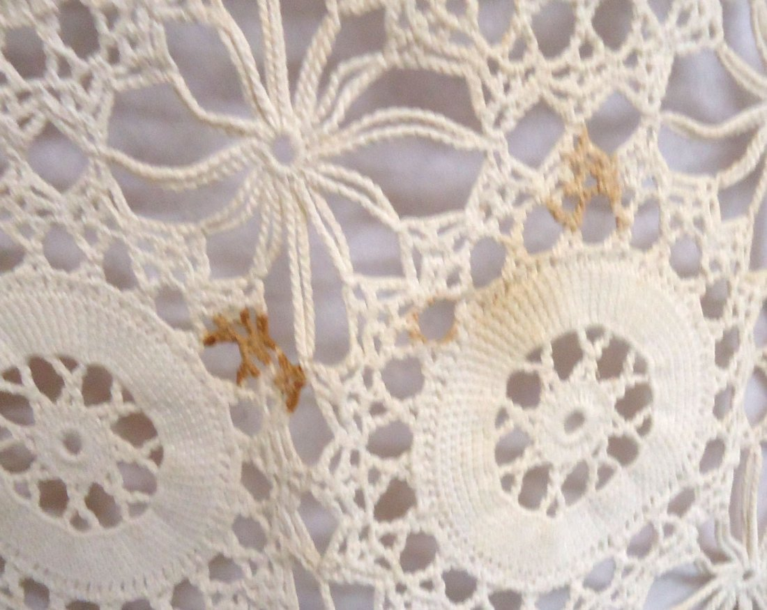 Crocheted Table Cloth - 7