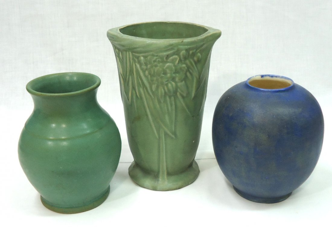 3 Pcs. Arts & Crafts Pottery