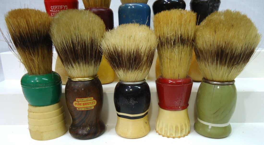 Lot Of 10 Shaving Brushes - 3