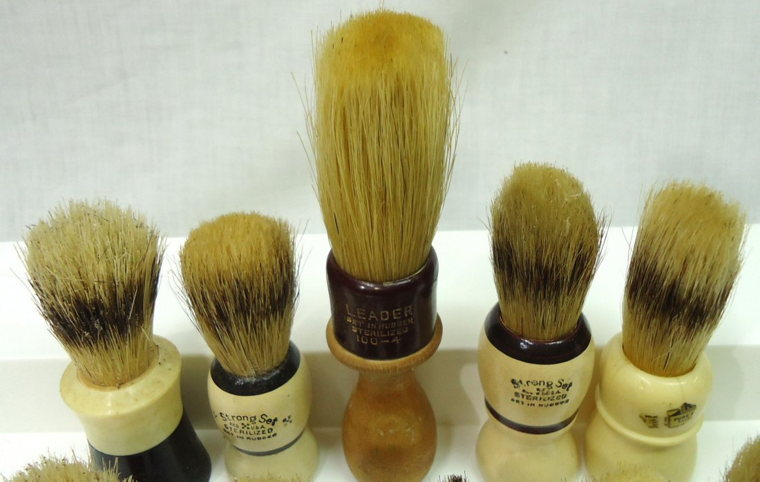 Lot Of 10 Shaving Brushes - 2