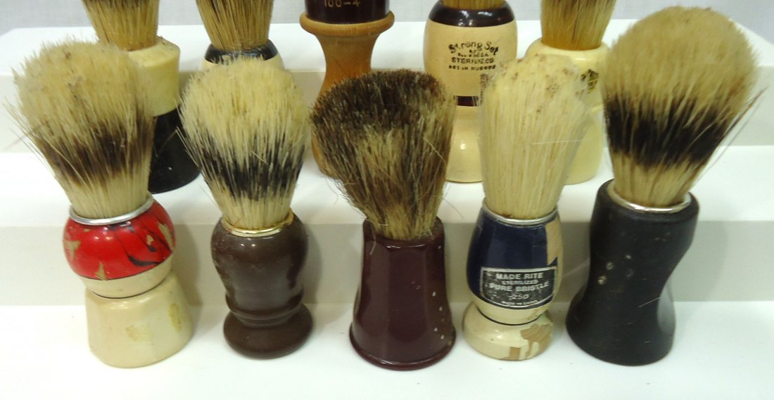 Lot Of 10 Shaving Brushes - 3