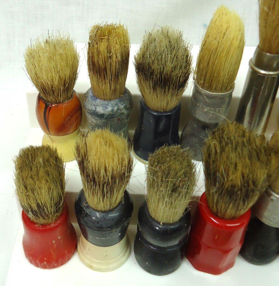 Lot Of 23 Shaving Brushes - 2