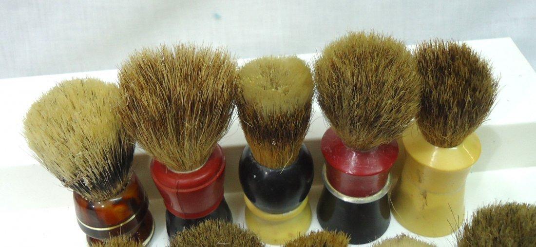 Lot Of 10 Badger & Other Shaving Brushes - 2