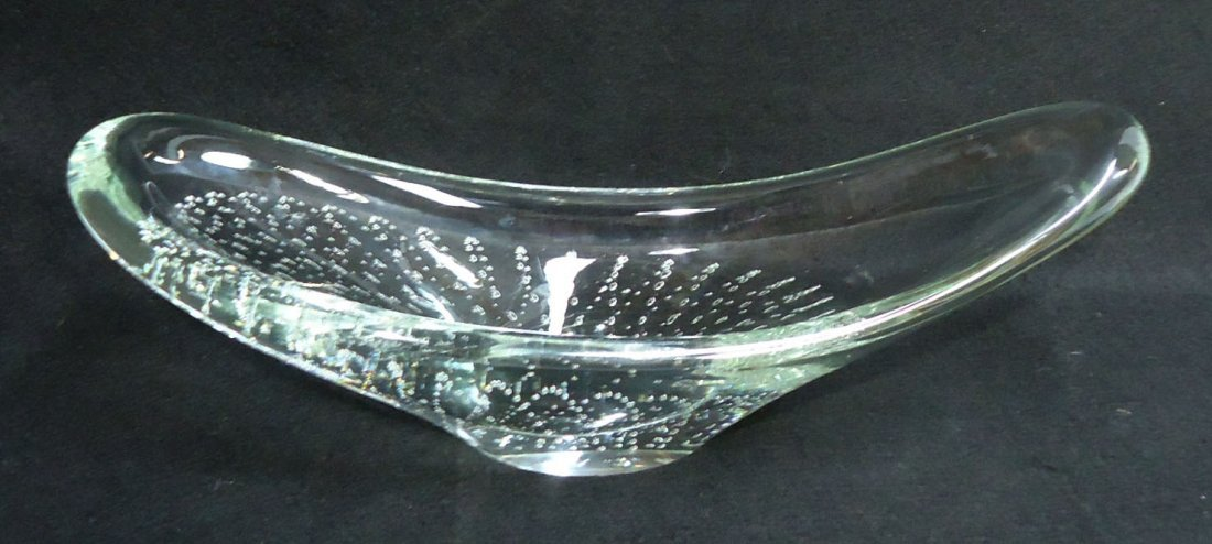 Erickson Controlled Bubble Dish Sgnd.