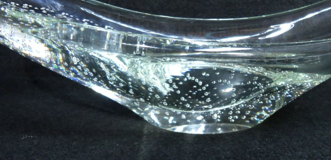 Erickson Controlled Bubble Dish Sgnd. - 3