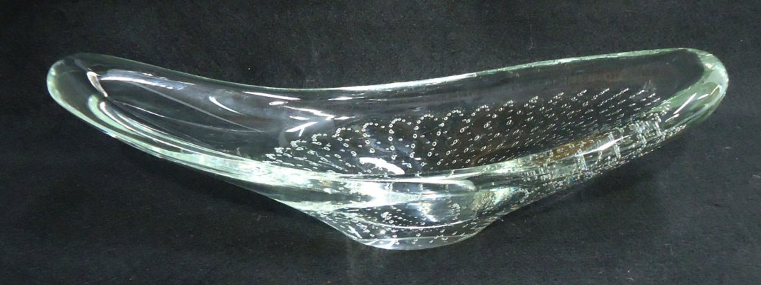 Erickson Controlled Bubble Dish Sgnd. - 4
