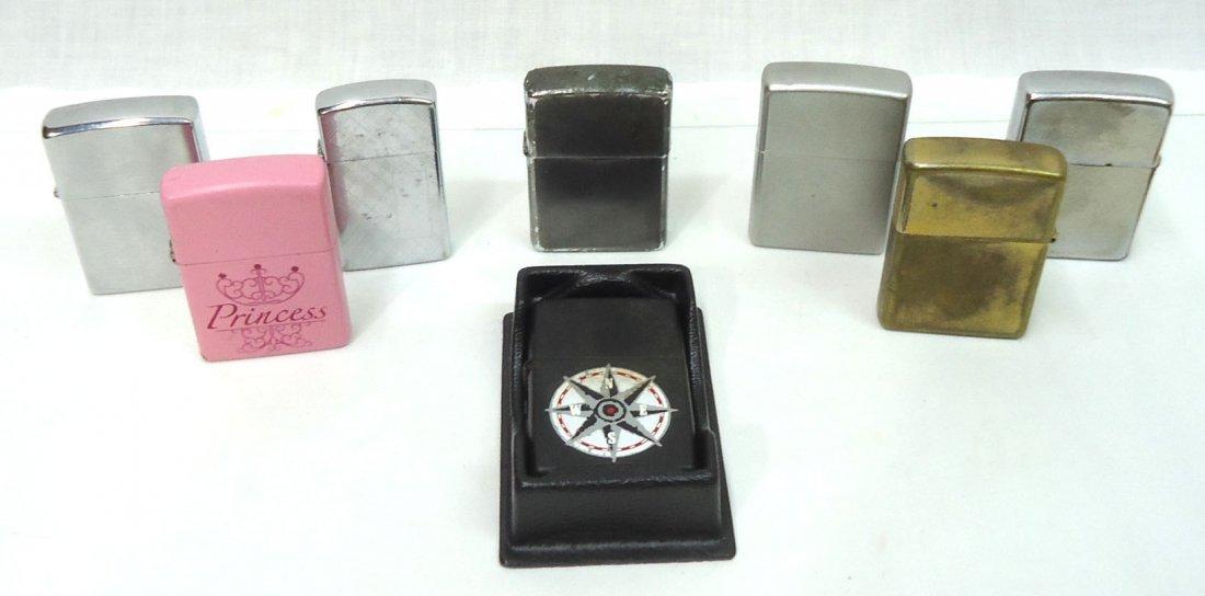 8- Zippo Lighters
