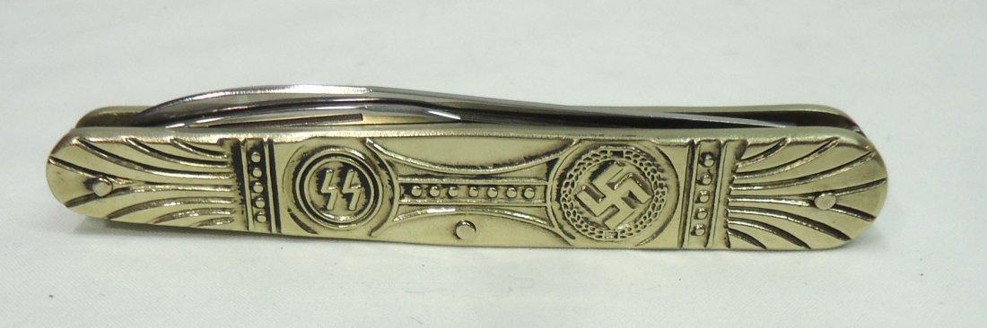 Nazi Style Pocket Knife - 2