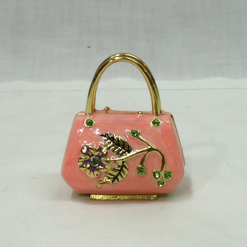 Enameled Purse Ring Box - 3