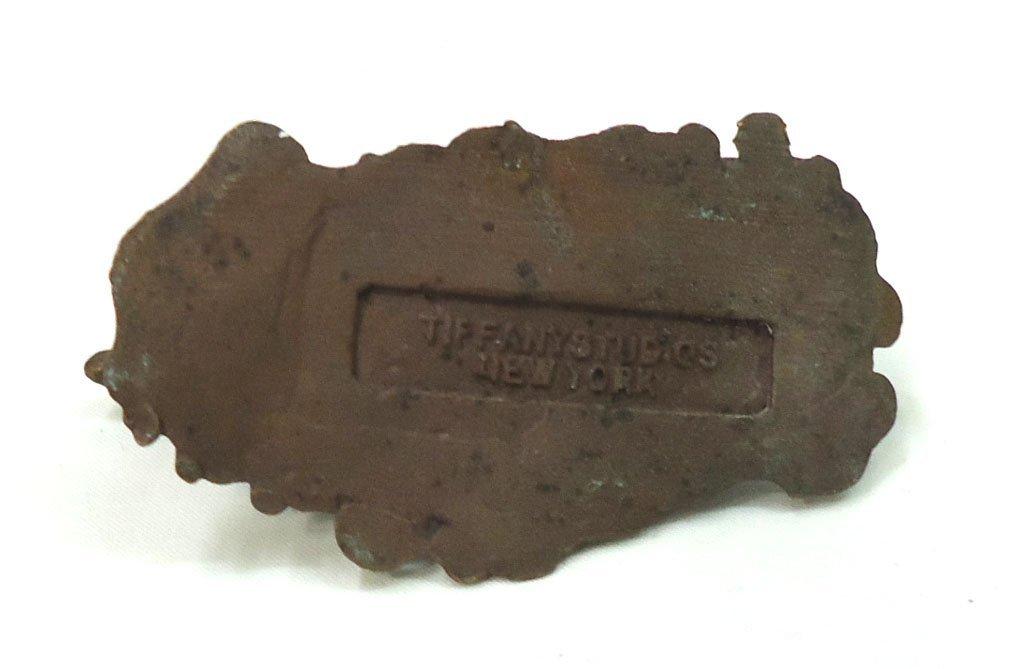 Modern Recast Tiffany Bronze Paperweight - 3