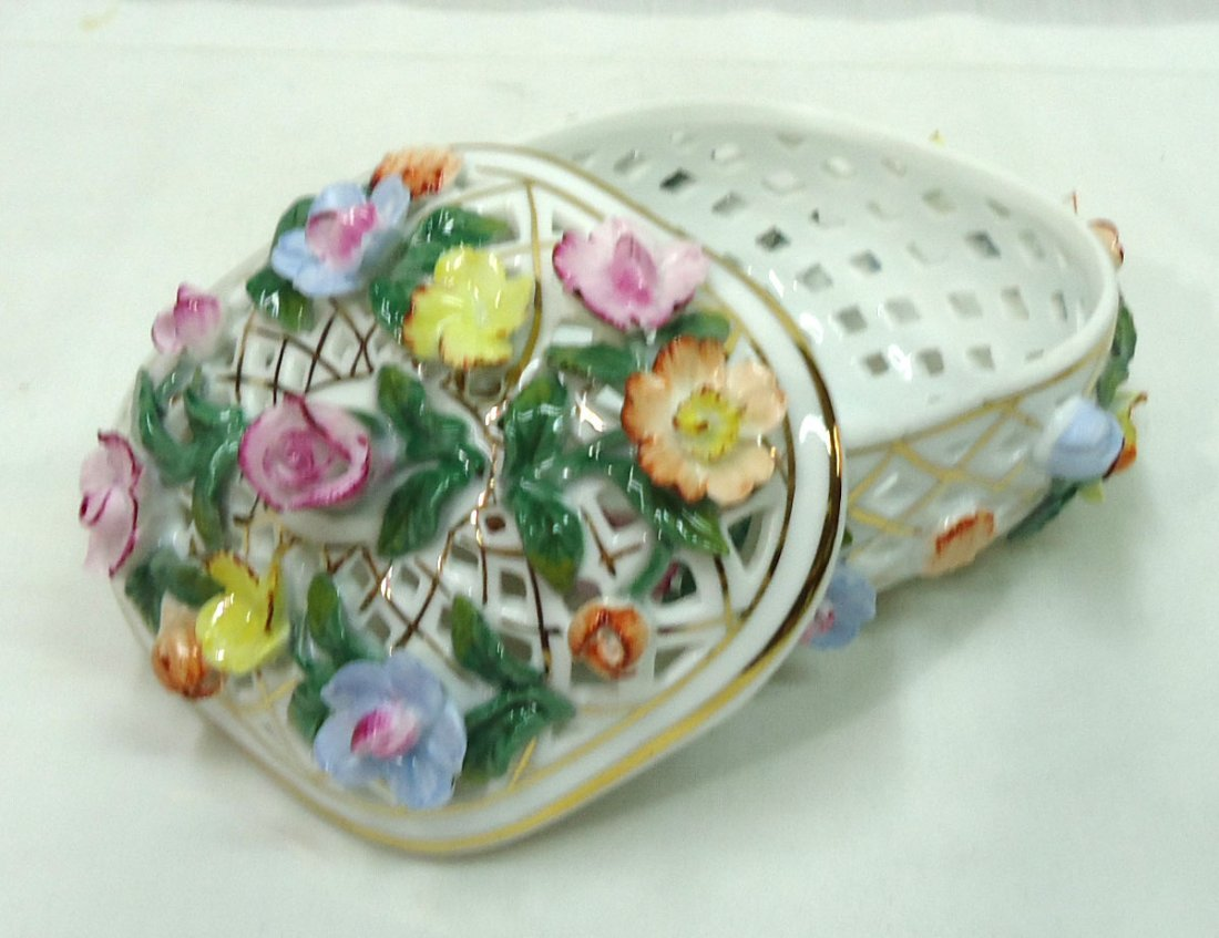 Modern KPM Reticulated Dresser Box - 2