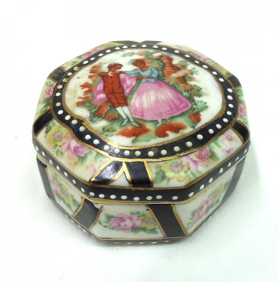 H.P. Porcelain Box