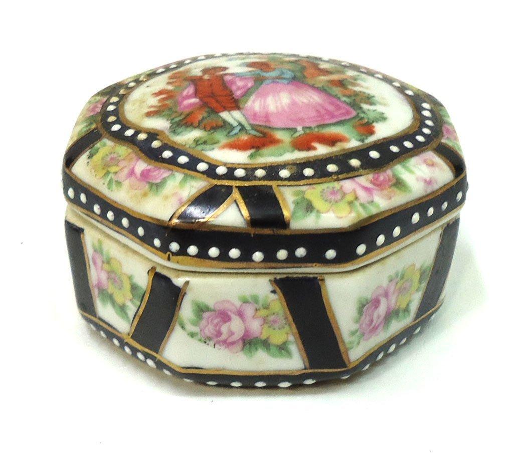 H.P. Porcelain Box - 2