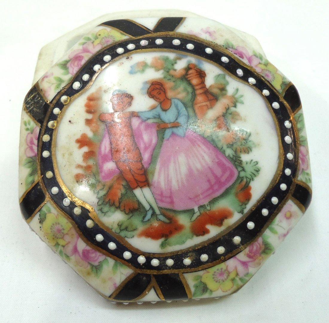 H.P. Porcelain Box - 3
