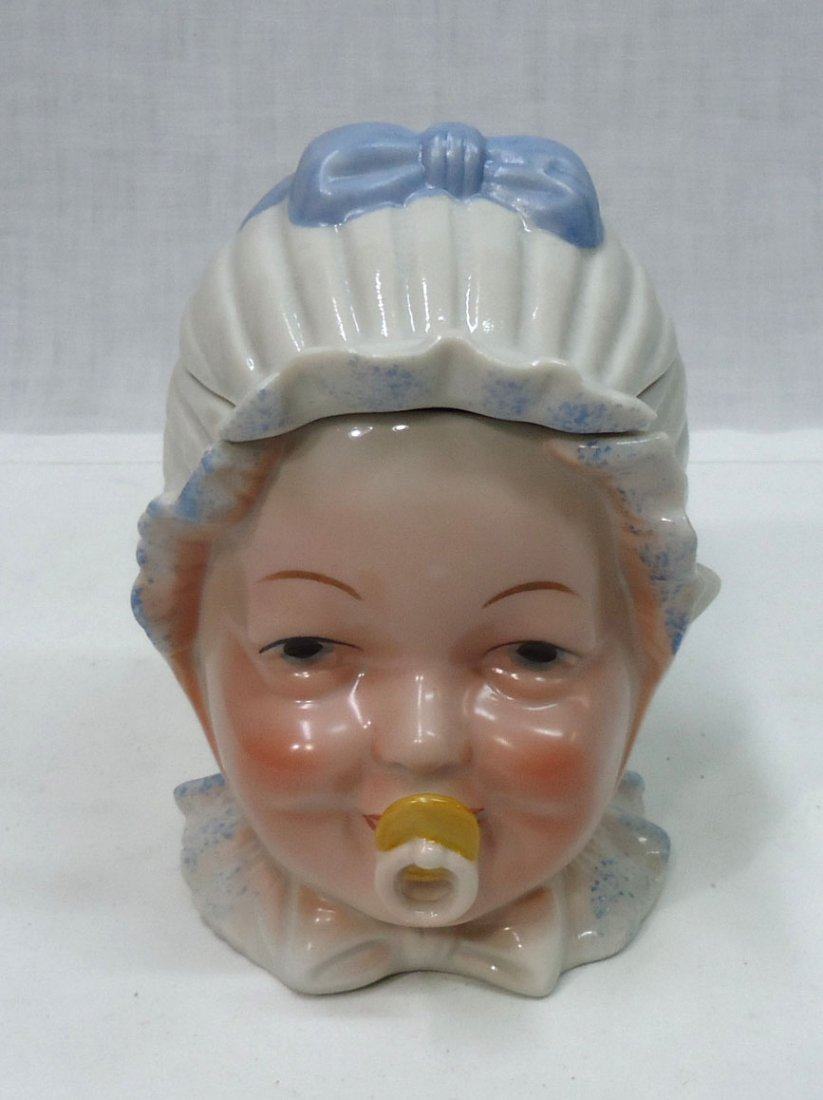 Modern Baby Tobacco Jar