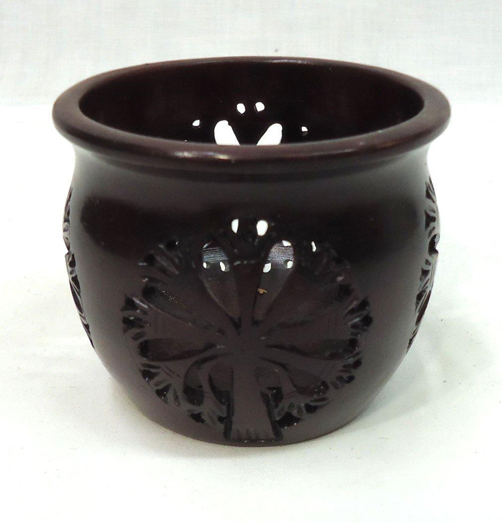 Oriental Hardstone Jar