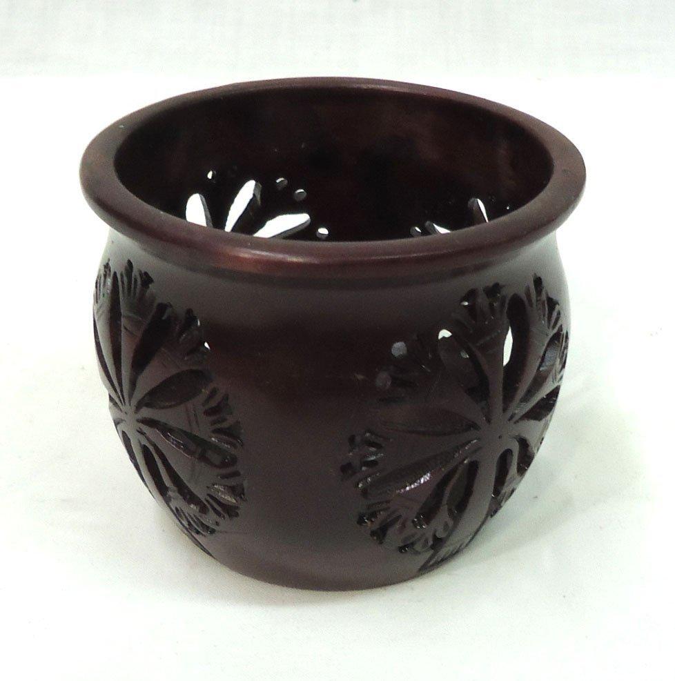 Oriental Hardstone Jar - 2