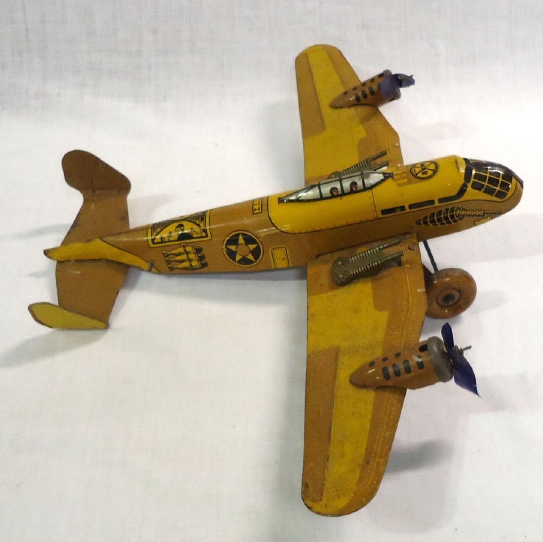 Marx Toy Tin Airplane