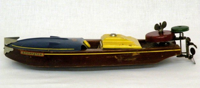 1: Boat with out board motor