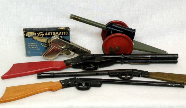 6: Toy guns & cannon