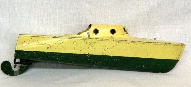 16: Pressed steel boat