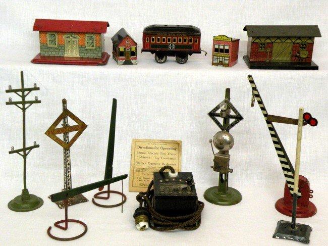 21: Train yard accessories