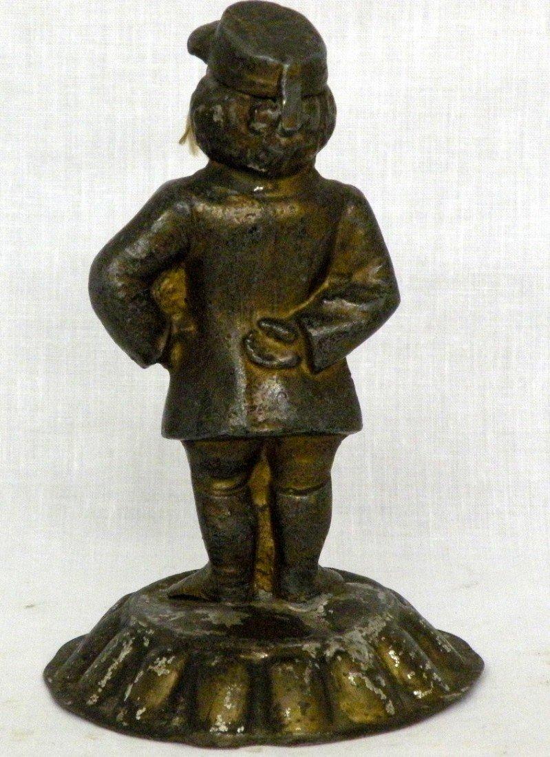 253: 2 cast iron figures - 3