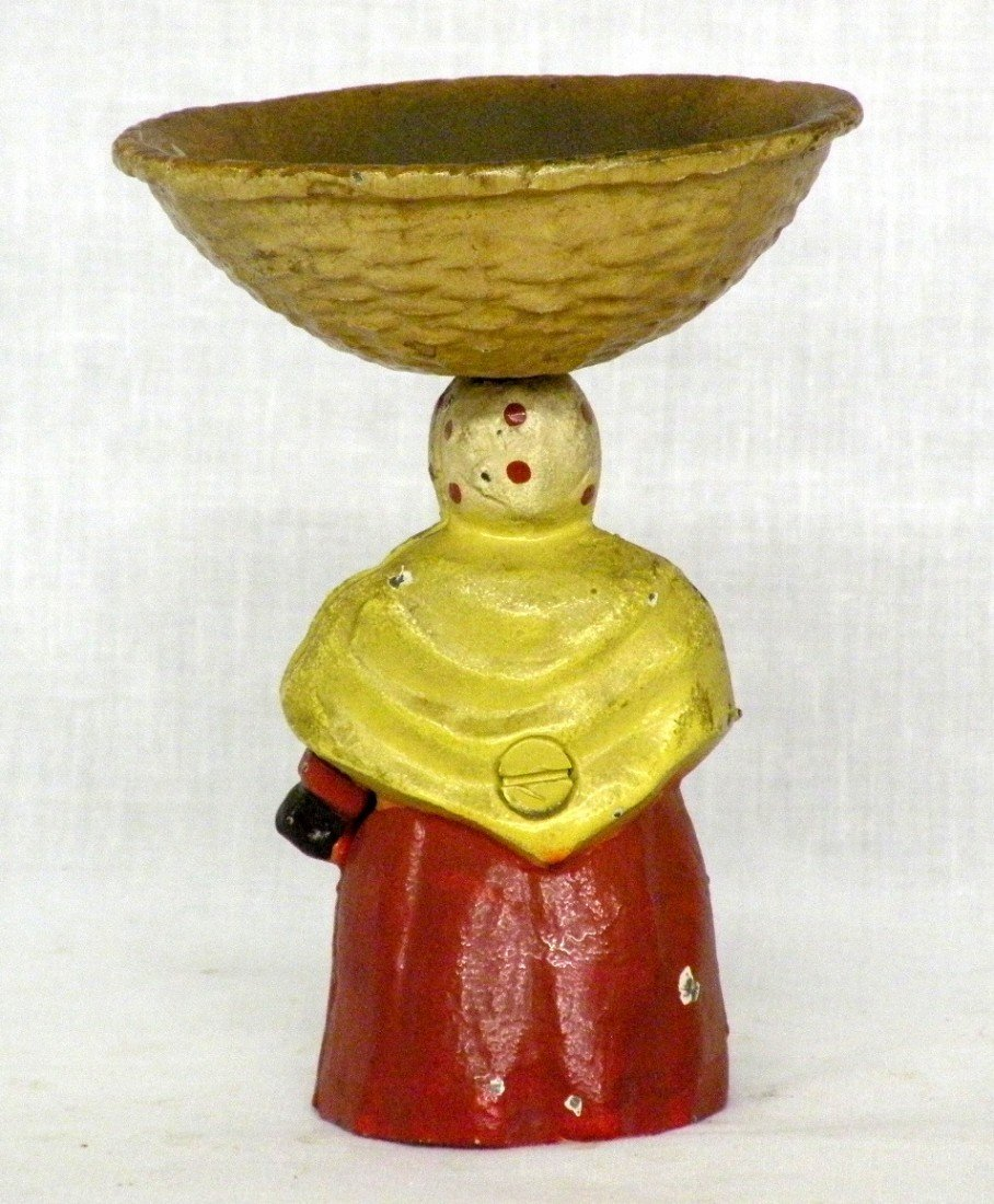 253: 2 cast iron figures - 4