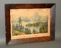 676: 2 Currier & Ives lithographs
