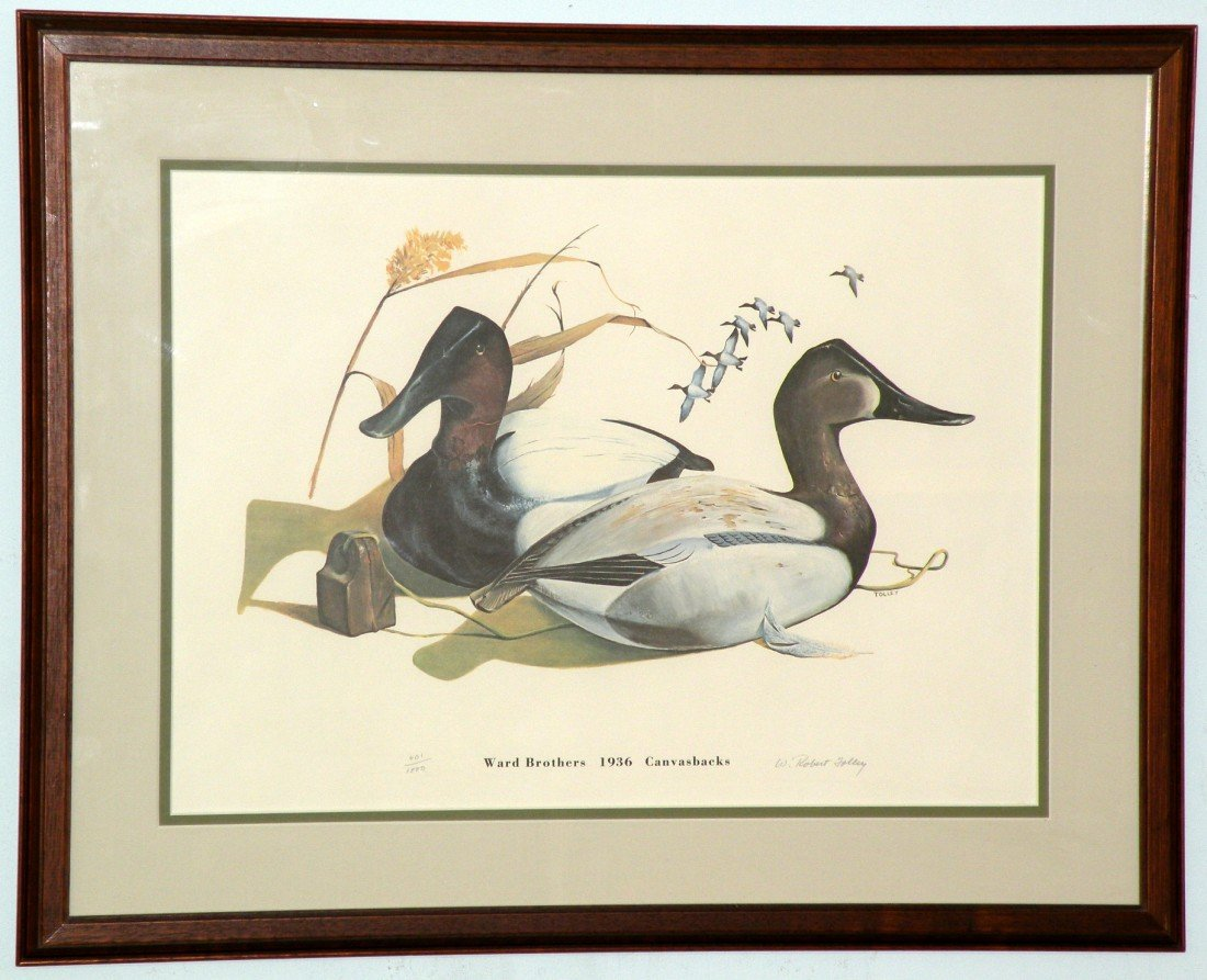 191: 2 Ward Brothers decoy prints by Tolley - 2