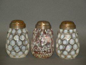 3 Glass Sugar Shakers