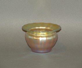 Quezal Art Glass Master Salt