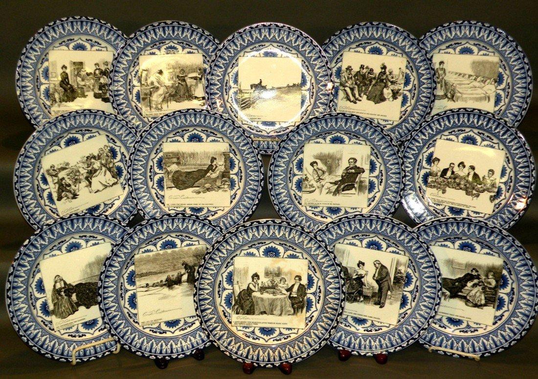 151: 14 Royal Doulton plates
