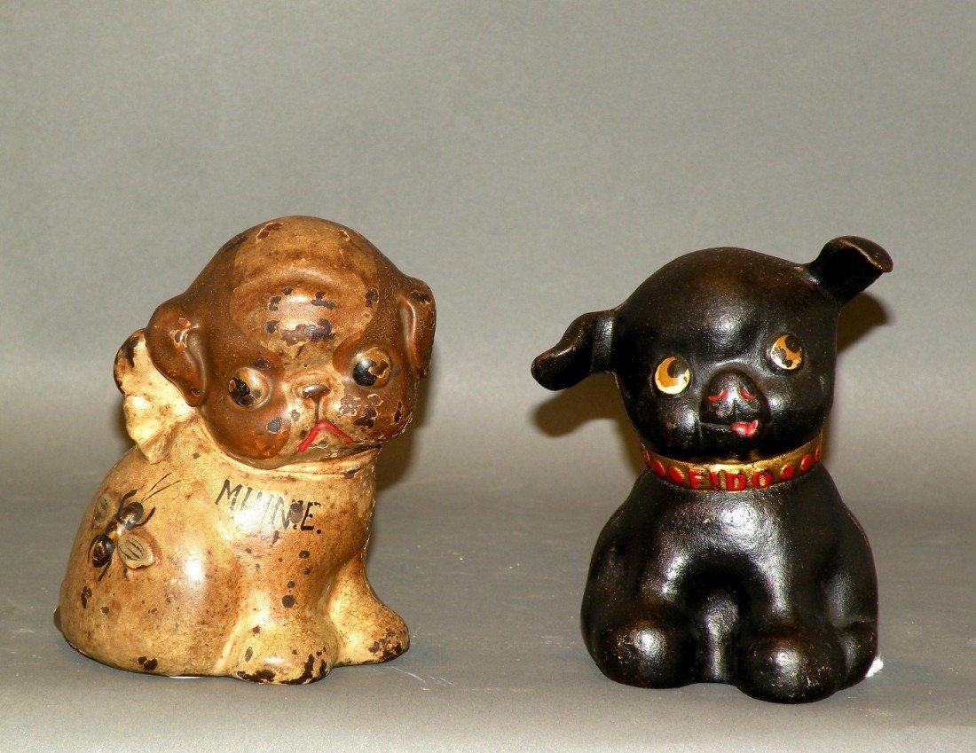 369: 2 iron dog banks