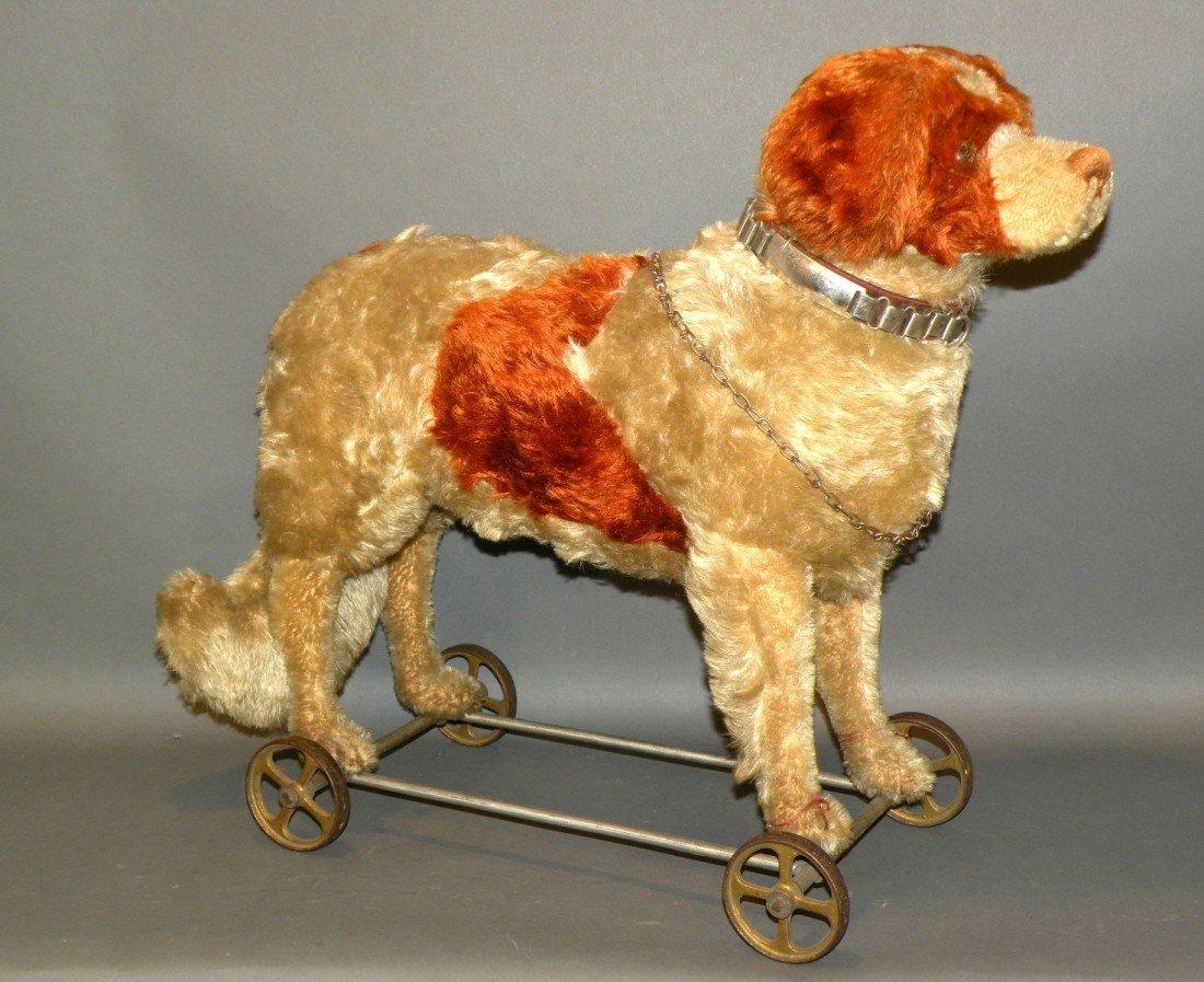 387: Stieff pull-toy dog
