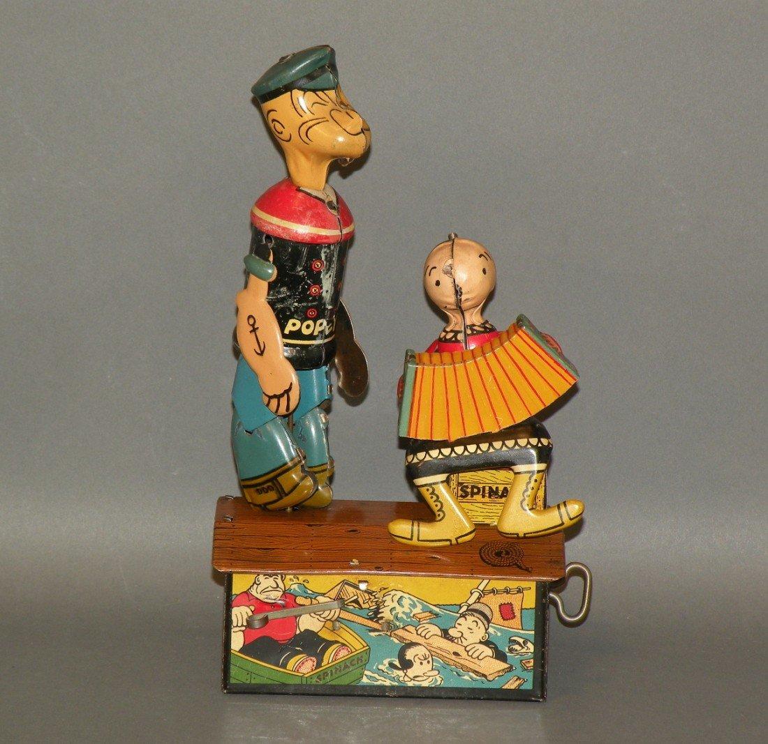 435: Marx wind up Popeye toy