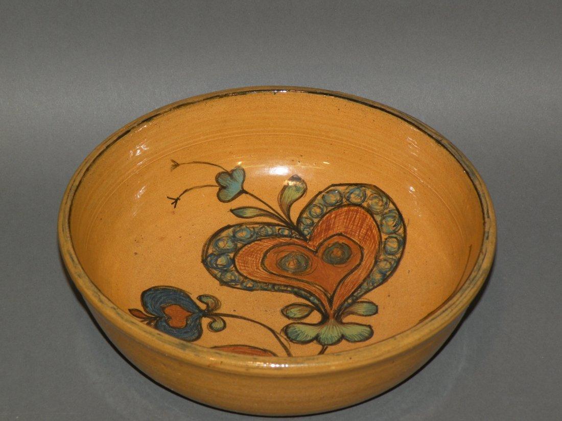 8: Left Handed Russell Henry bowl