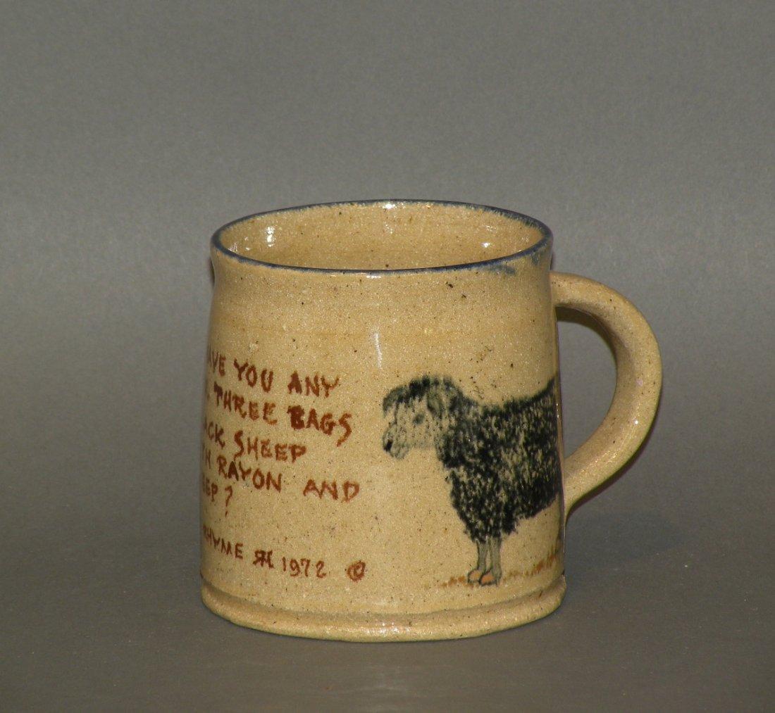 10: Left Handed Russell Henry mug